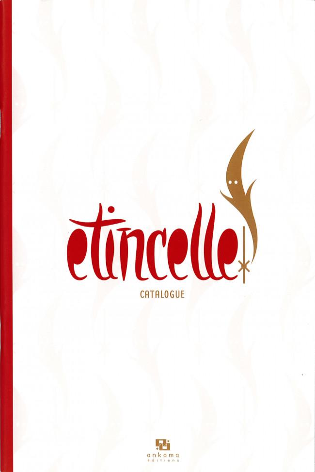Couverture de (Catalogues) Éditeurs, agences, festivals, fabricants de para-BD... - Etincelle - Catalogue