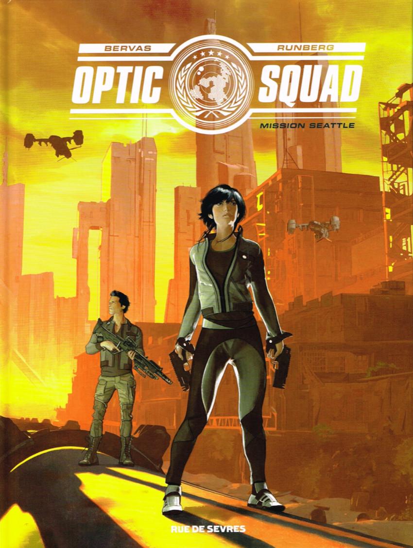 Couverture de Optic Squad -1- Mission Seattle