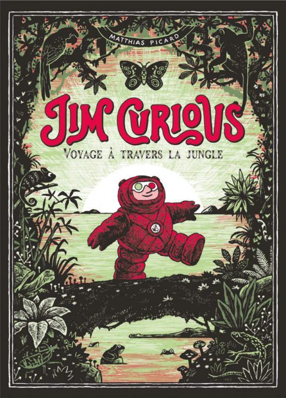 Couverture de Jim Curious -2- Voyage à travers la jungle