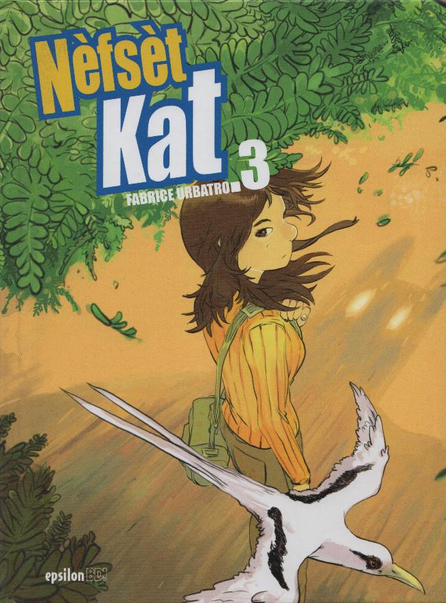 Couverture de Nefset Kat -3- Tome 3