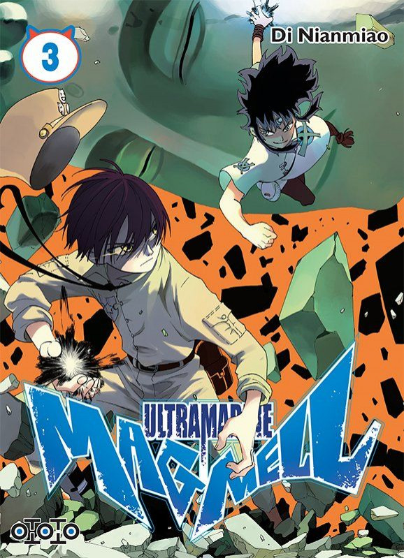 Couverture de Ultramarine Magmell -3- Tome 3