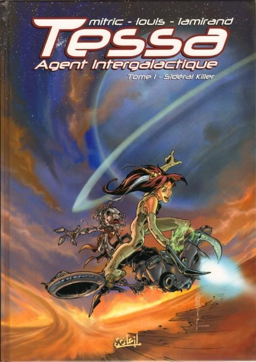 Couverture de Tessa agent intergalactique -1- Sidéral Killer