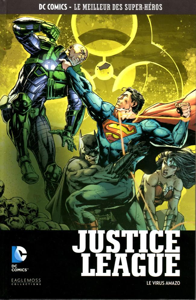 Couverture de DC Comics - Le Meilleur des Super-Héros -106- Justice League - Le Virus Amazo