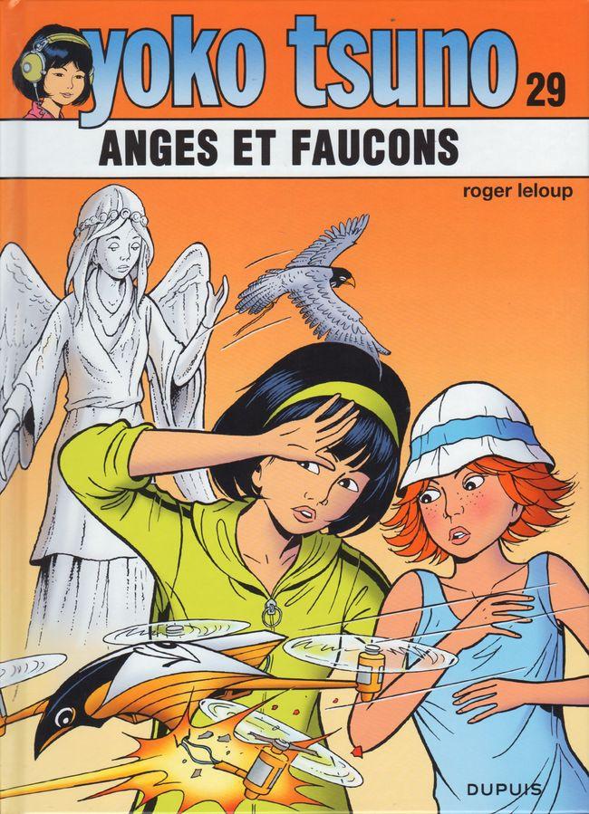 Couverture de Yoko Tsuno -29- Anges et faucons