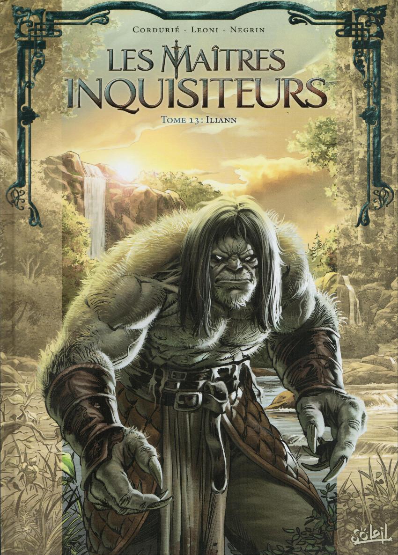 Couverture de Les maîtres Inquisiteurs -13- Iliann