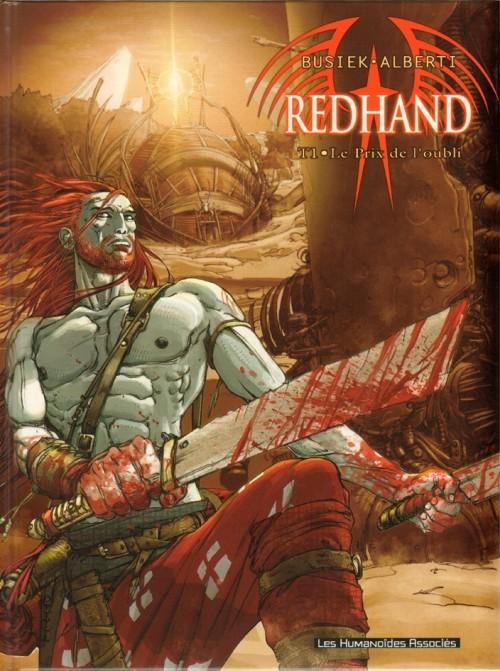 Couverture de Redhand -1- Le prix de l'oubli