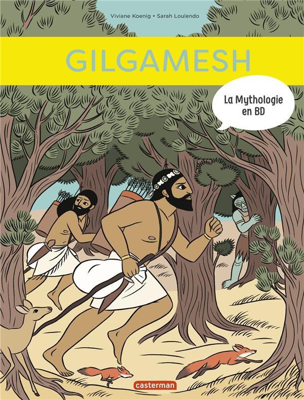Couverture de La mythologie en BD -12- Gilgamesh
