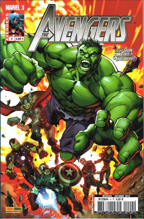 Couverture de Avengers (Marvel France - 2012) [2] -4- Vision du futur