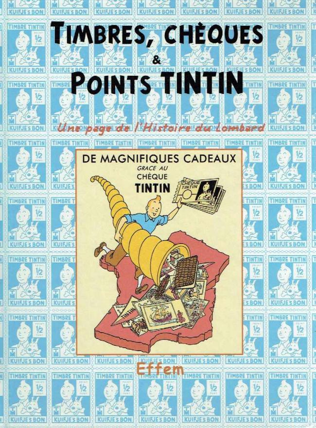 Couverture de (AUT) Hergé - Timbres, chèques & points Tintin
