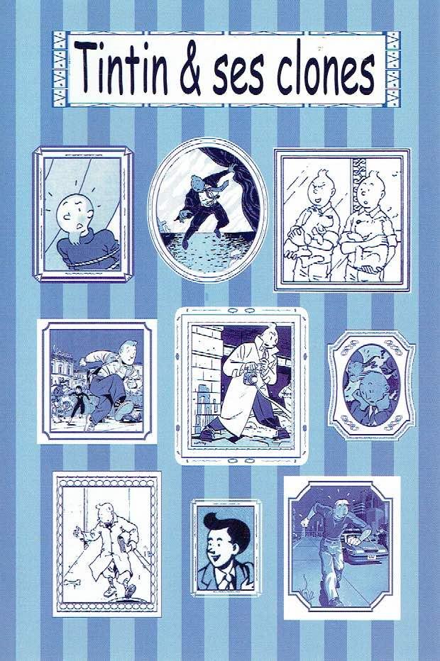 Couverture de (AUT) Hergé - Tintin & ses clones