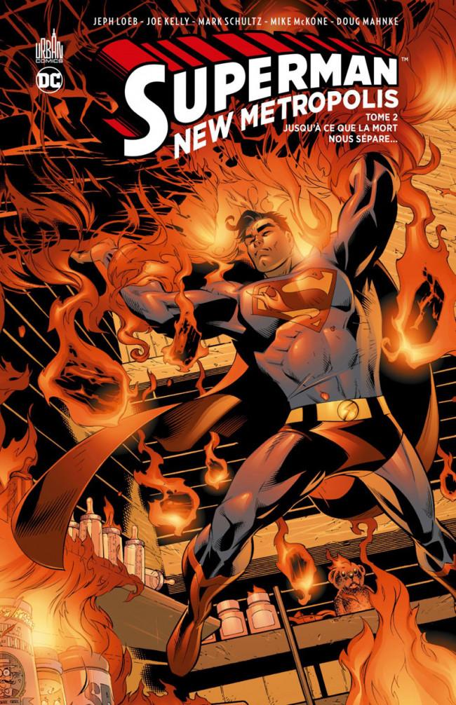 Couverture de Superman - New Metropolis -2- Tome 2