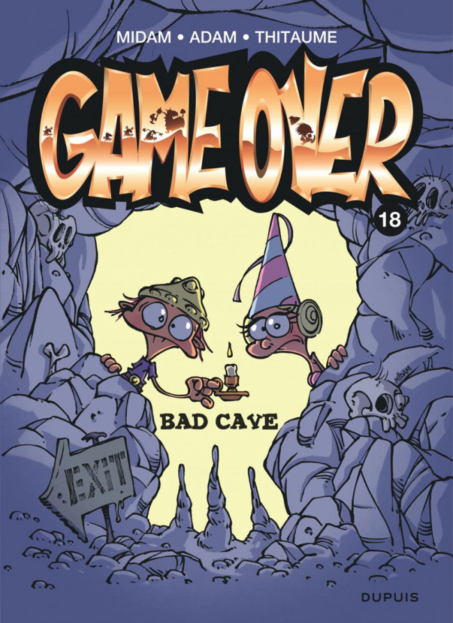Couverture de Game Over -18- Bad cave