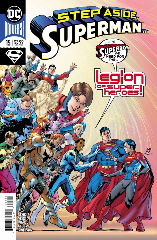 Couverture de Superman Vol.5 (DC Comics - 2018) -15- The Unity Saga : The House of El - The conclusion - Part 2