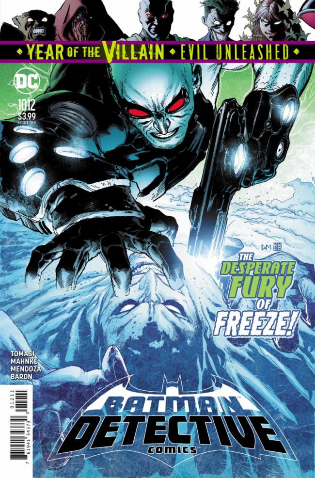Couverture de Detective Comics (1937), Période Rebirth (2016) -1012- Freeze Frame