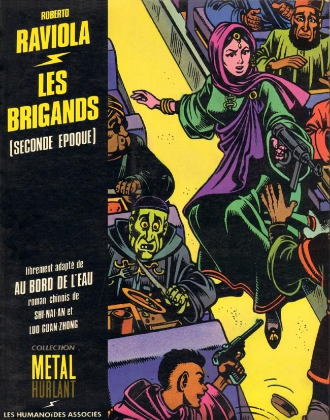 Couverture de Les brigands -2- Les Brigands (seconde époque)
