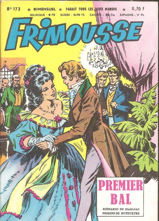 Couverture de Frimousse et Frimousse-Capucine -173- Premier bal