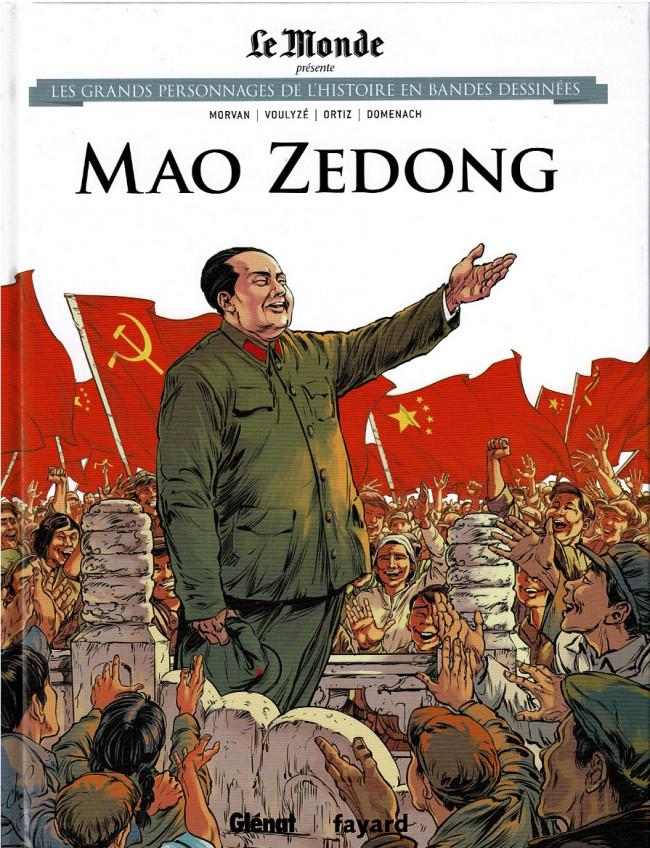 Couverture de Les grands Personnages de l'Histoire en bandes dessinées -19- Mao Zedong