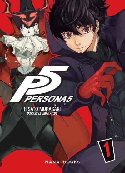 Couverture de Persona 5 -1- Volume 1