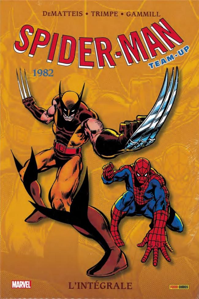 Couverture de Spider-Man Team-Up (L'Intégrale) -9INT- L'intégrale 1982
