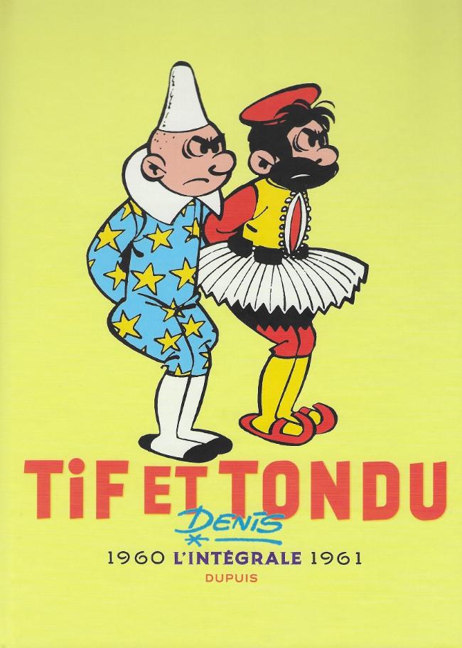 Couverture de Tif et Tondu -INT3- L'intégrale 1960 - 1961