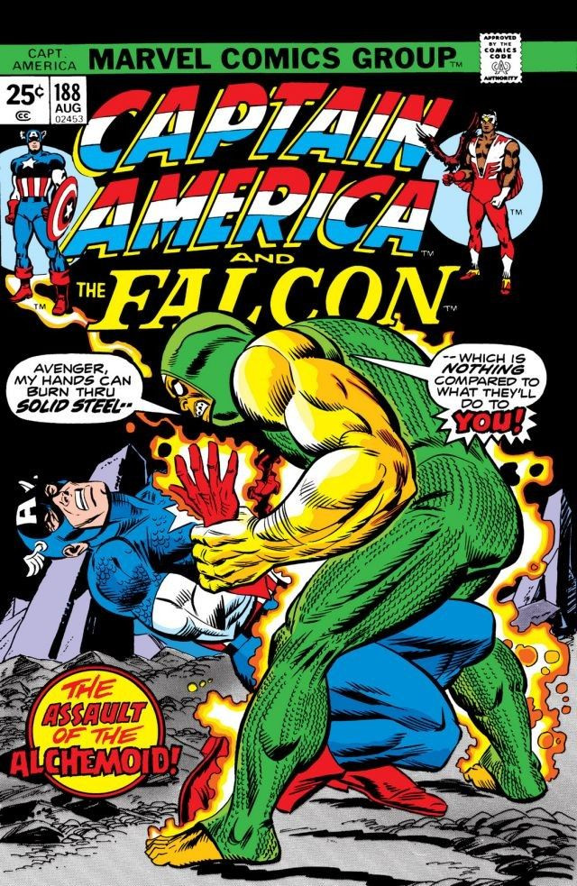 Couverture de Captain America (Marvel comics - 1968) -188- Druid War