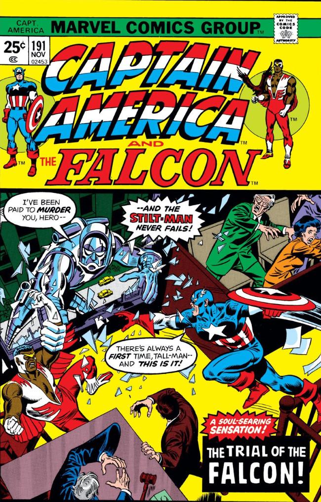 Couverture de Captain America (Marvel comics - 1968) -191- The Trial of the Falcon