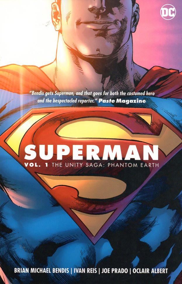 Couverture de Superman Vol.5 (DC Comics - 2018) -INT01- The unity saga : phantom earth