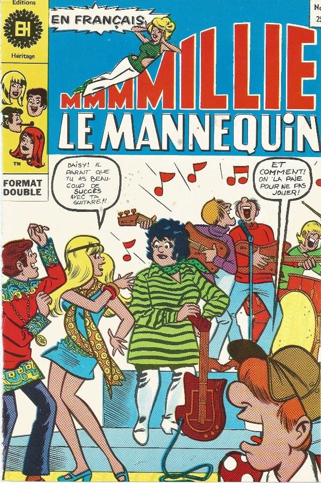 Couverture de Millie le Mannequin (Éditions Héritage) -4- L'ami idéal pour Millie