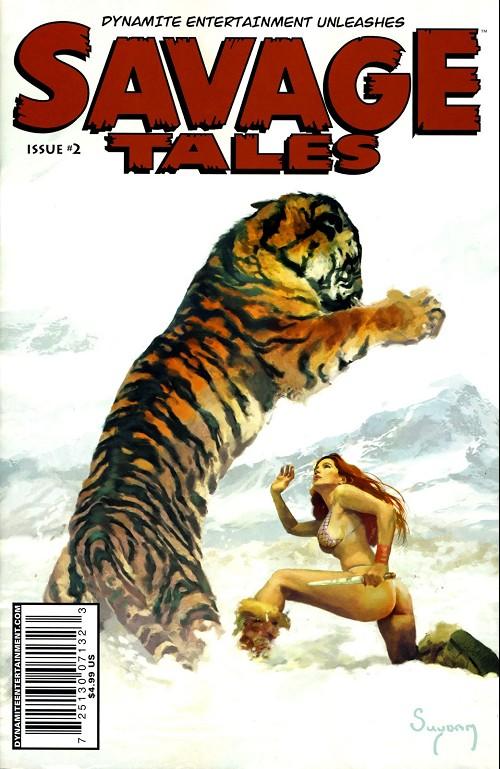 Couverture de Savage tales (Dynamite - 2007) -2- Issue #2