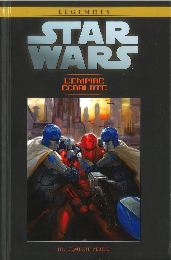 Couverture de Star Wars - Légendes - La Collection (Hachette) -10078- L'Empire Écarlate - III. L'Empire Perdu