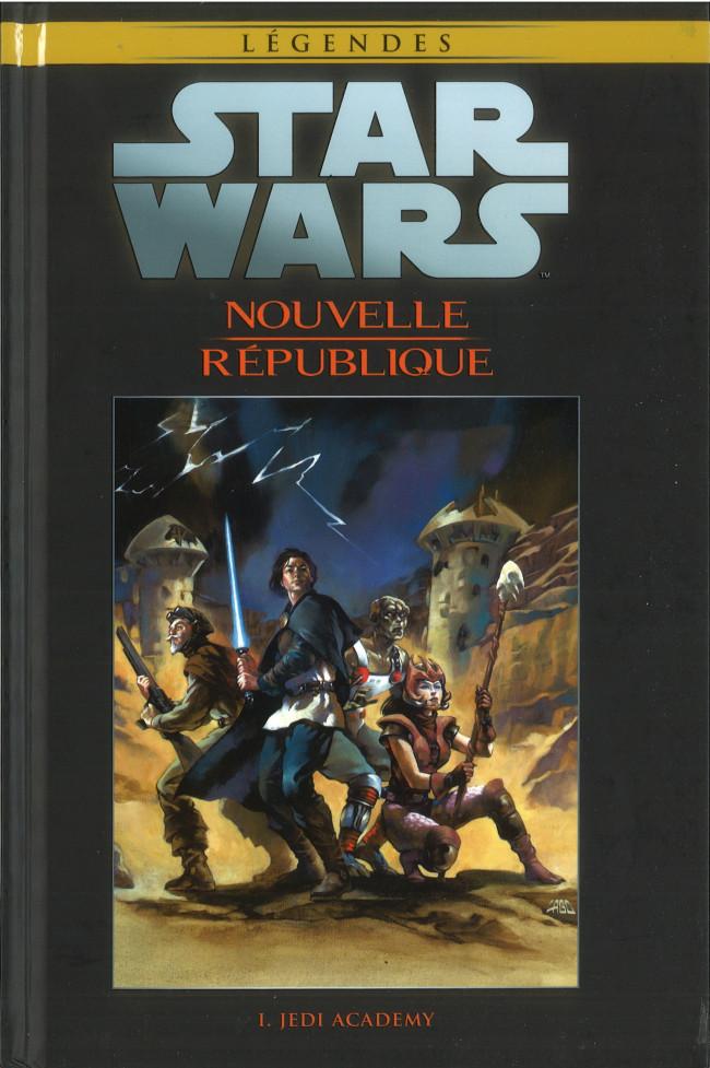 Couverture de Star Wars - Légendes - La Collection (Hachette) -10179- Nouvelle République - I. Jedi Academy