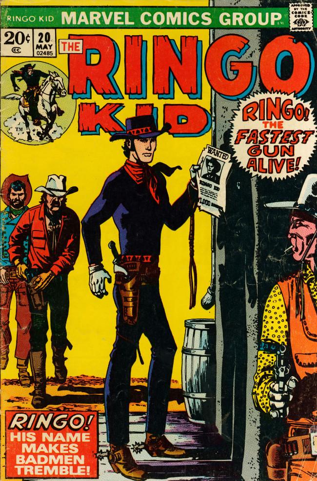 Couverture de Ringo Kid (The) Vol 2 (Marvel - 1970) -20- (sans titre)