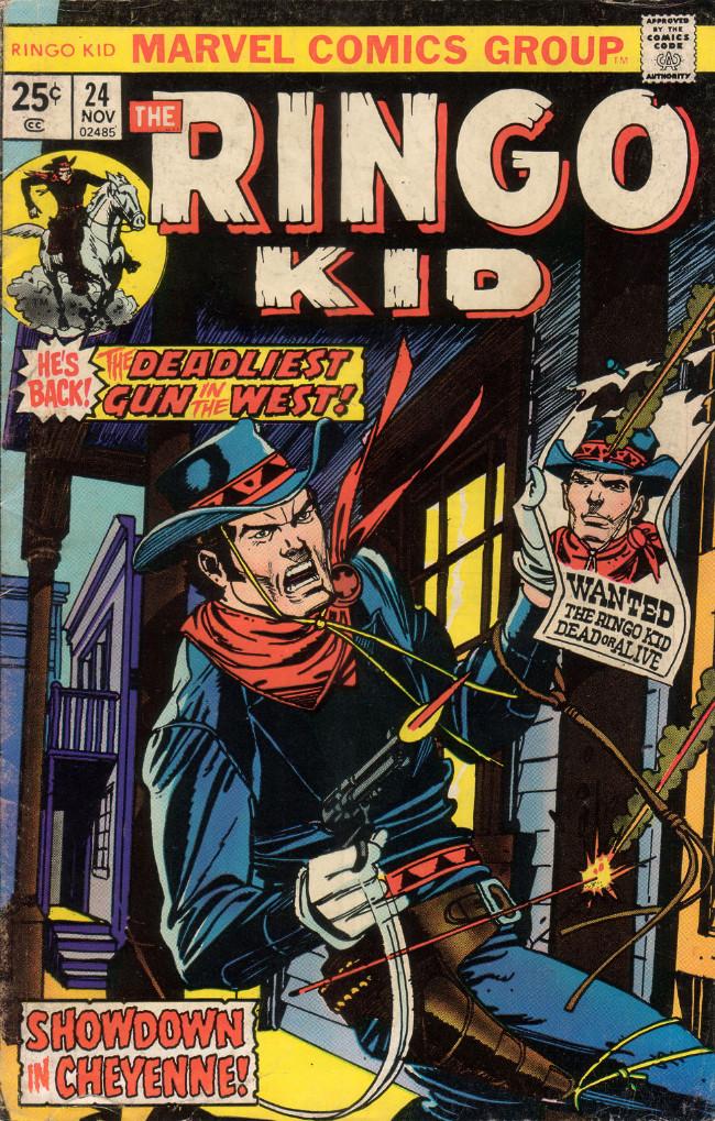 Couverture de The ringo Kid Vol 2 (Marvel - 1970) -24- Showdown in Cheyenne!
