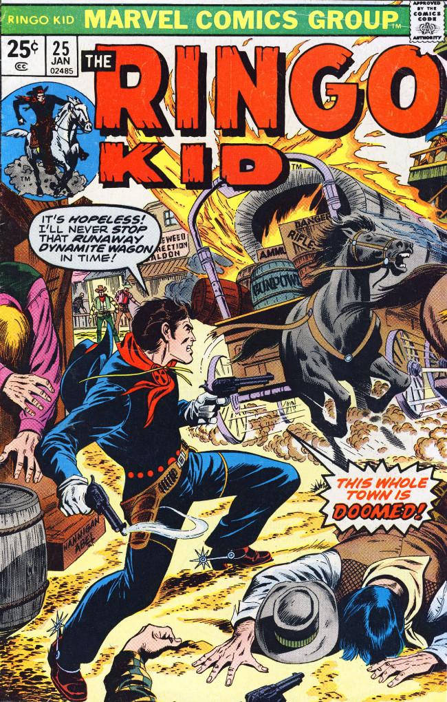 Couverture de Ringo Kid (The) Vol 2 (Marvel - 1970) -25- (sans titre)