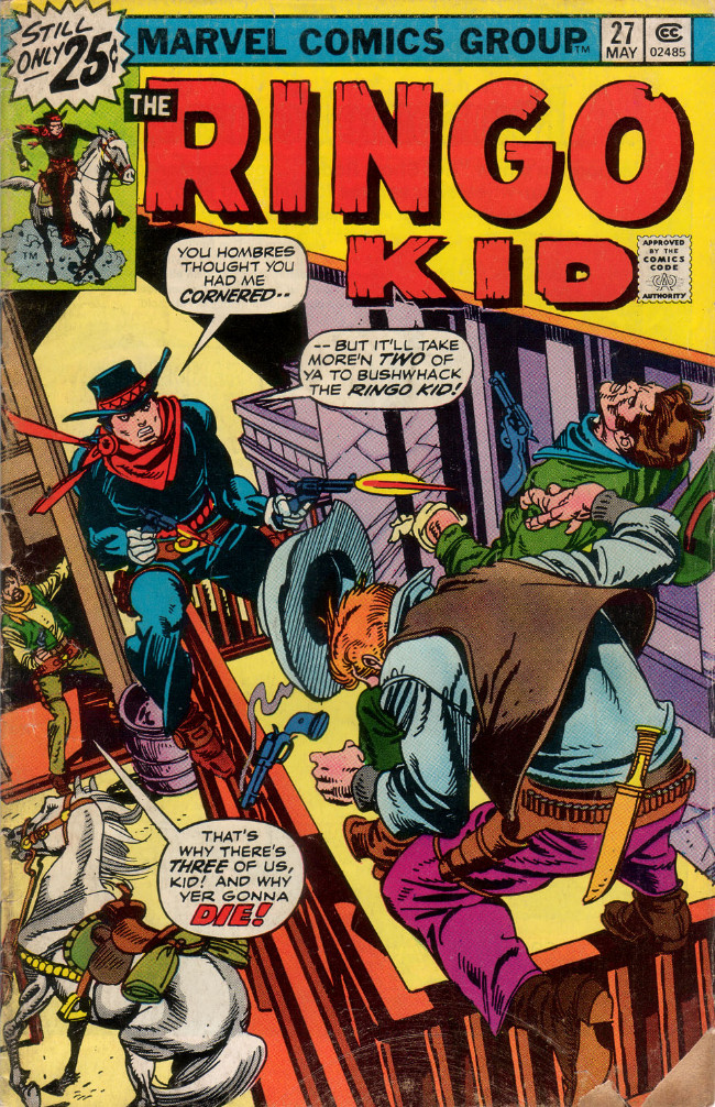 Couverture de Ringo Kid (The) Vol 2 (Marvel - 1970) -27- (sans titre)