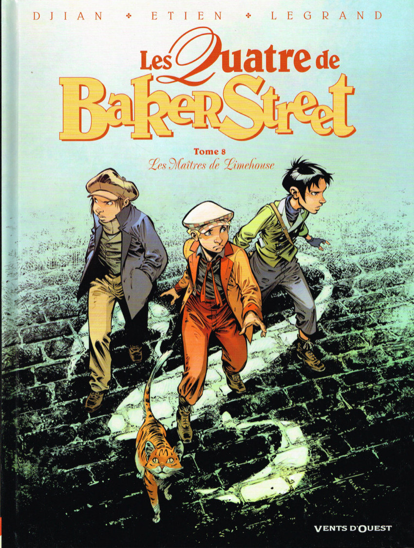 Couverture de Les quatre de Baker Street -8- Les Maîtres de Limehouse