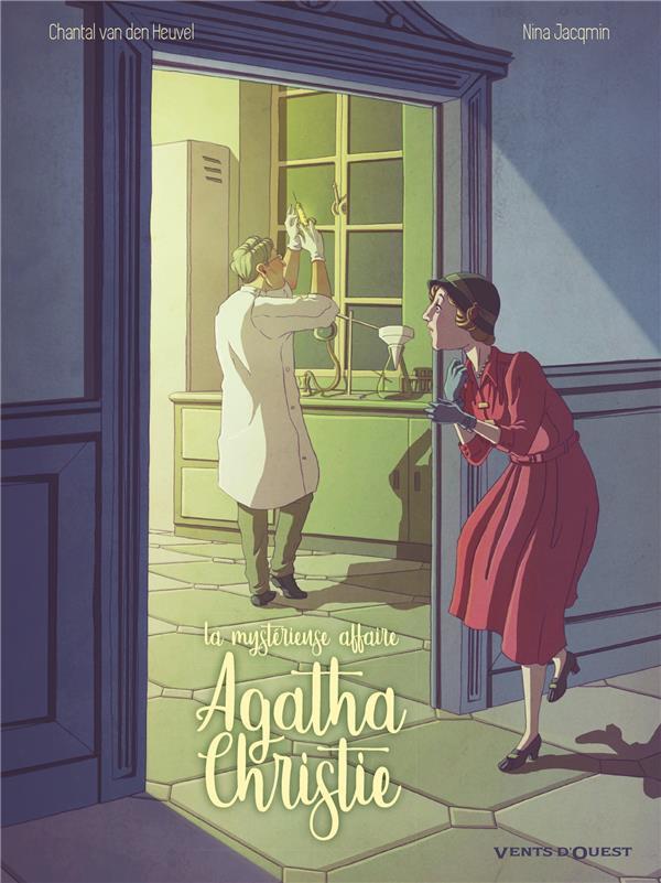 Couverture de La mystérieuse affaire Agatha Christie