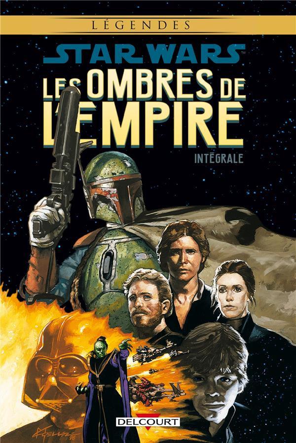 Couverture de Star Wars - Les ombres de l'Empire -INT- Intégrale