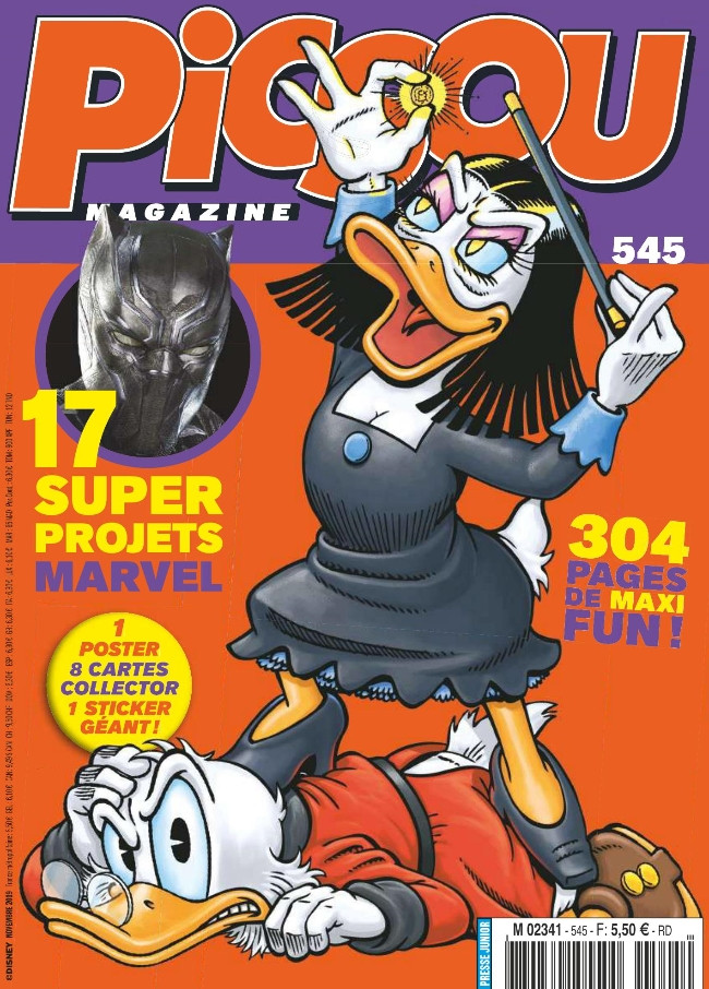 Couverture de Picsou Magazine -545- Picsou Magazine n°545
