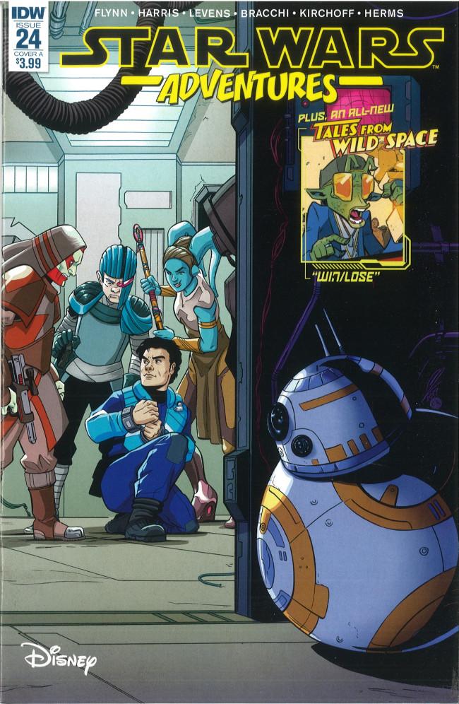 Couverture de Star Wars Adventures (2017) -24- Kidnapped!