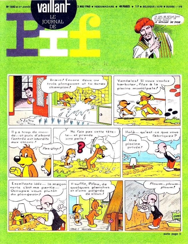 Couverture de Vaillant (le journal le plus captivant) -1042- Vaillant