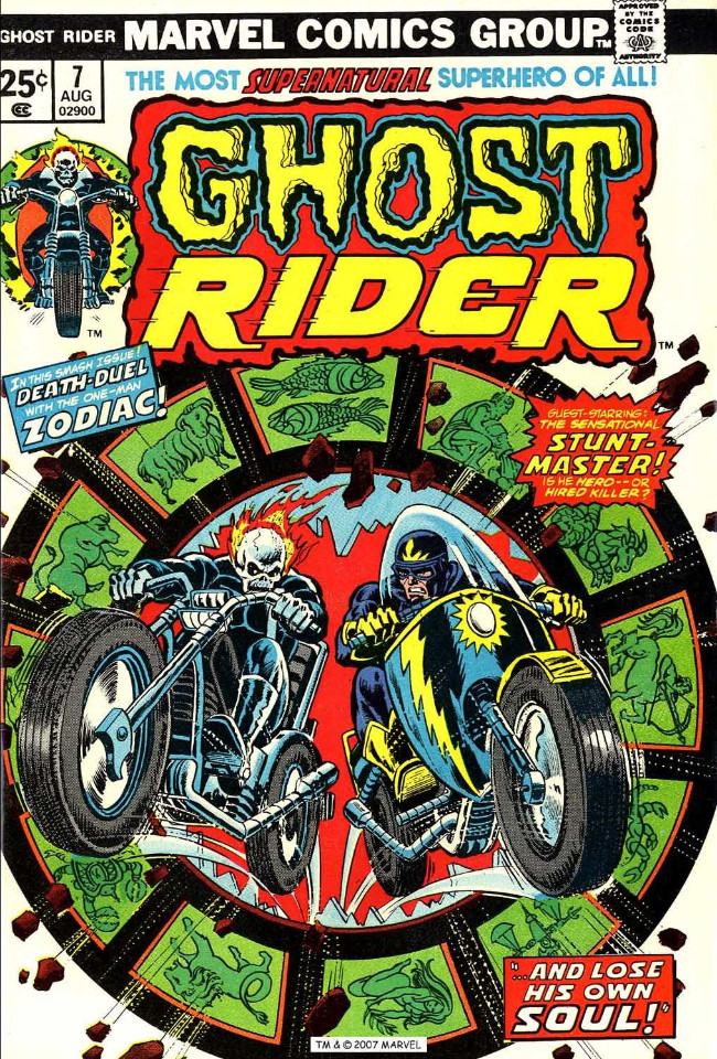 Couverture de Ghost Rider Vol.2 (Marvel comics - 1973) -7- ...And Loses His Own Soul!