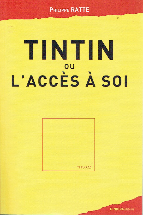 Couverture de (AUT) Hergé - Tintin ou l'accès à soi