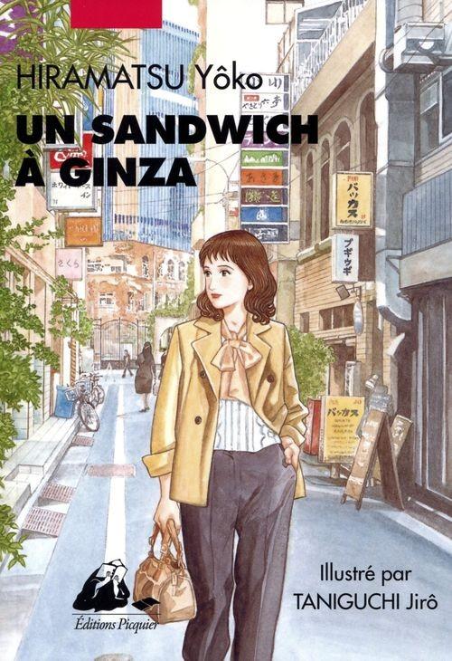 Couverture de Un sandwich à Ginza