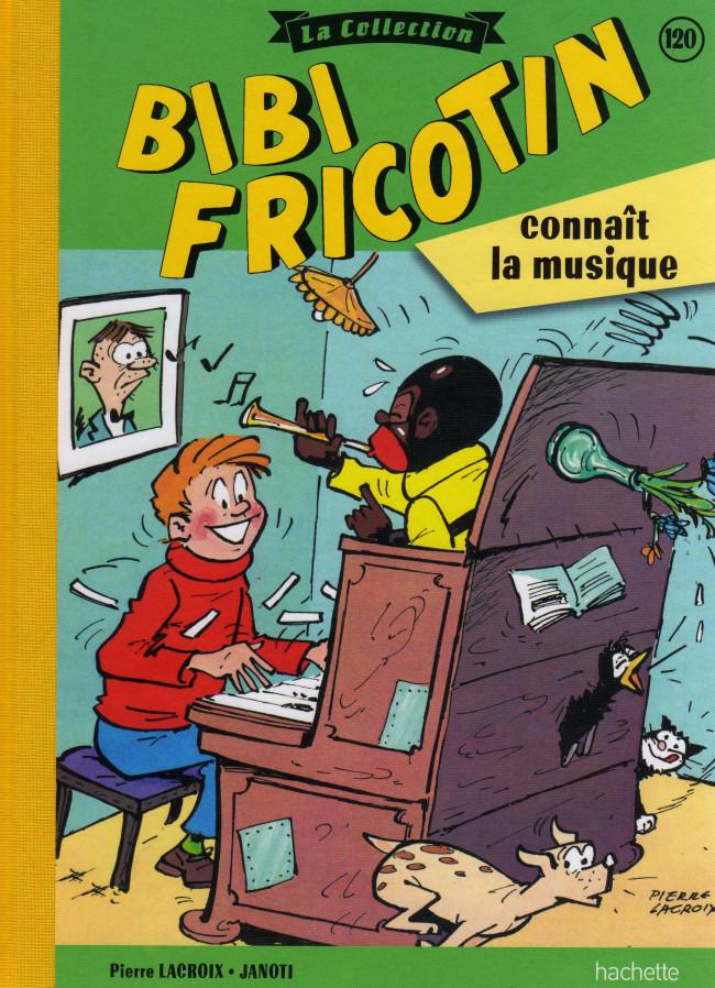 Couverture de Bibi Fricotin (Hachette - la collection) -120- Bibi Fricotin connaît la musique