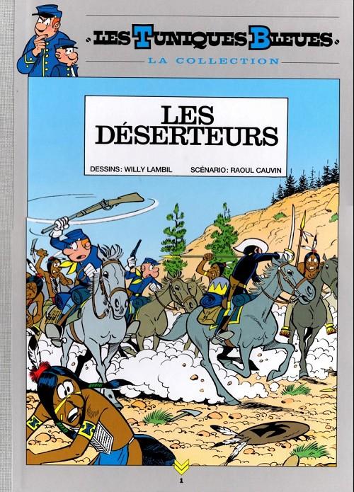 Couverture de Les tuniques bleues - La Collection (Hachette, 2e série) -105- Les déserteurs