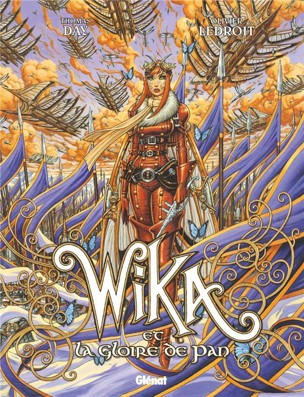 Couverture de Wika -3- Wika et la Gloire de Pan