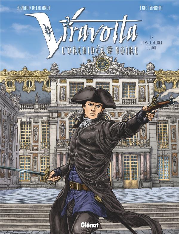 Couverture de Viravolta -2- Dans le secret du roi