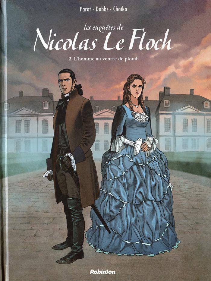 Couverture de Nicolas Le Floch (Les Enquêtes de) -2- L'homme au ventre de plomb