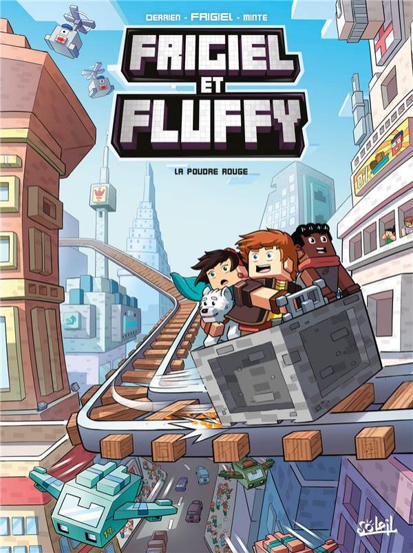Couverture de Frigiel et Fluffy -7- La poudre rouge